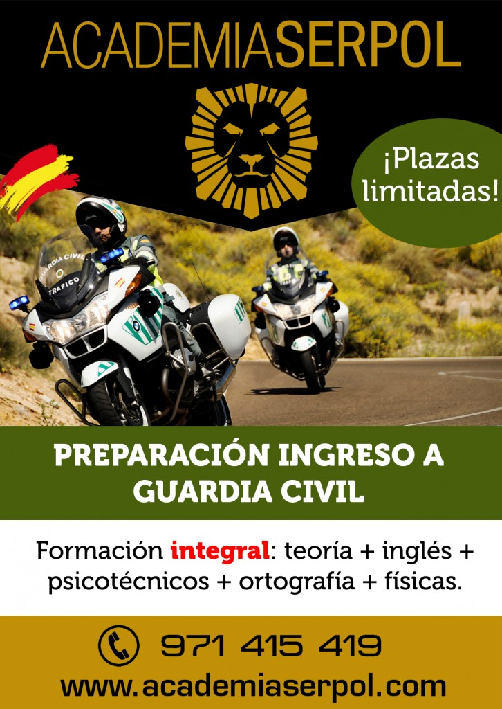 Curso preparación Guardia Civil